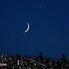 July 17-18: The moon over the Iowa Corn 300.