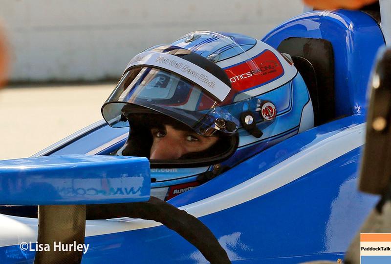 July 17-18: Tristan Vautier during the Iowa Corn 300.