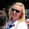 July 17-18: Sarah Fisher during the Iowa Corn 300.