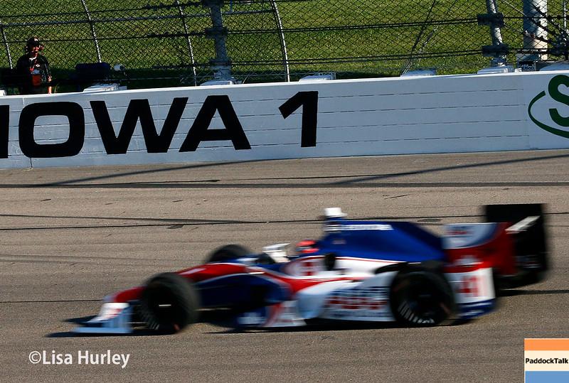 July 17-18: Jack Hawksworth during the Iowa Corn 300.