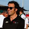 July 17-18: Dario Franchitti before the Iowa Corn 300.
