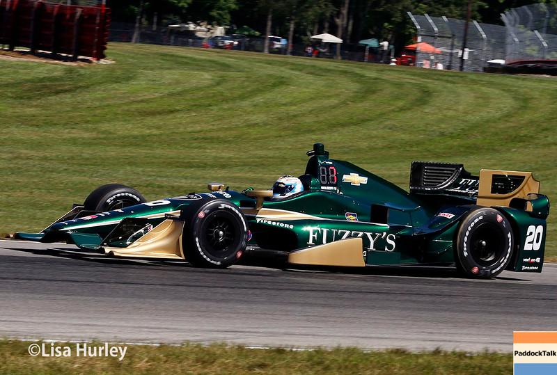 August 1-2: Luca Filippi at Honda Indy 200 at Mid-Ohio.