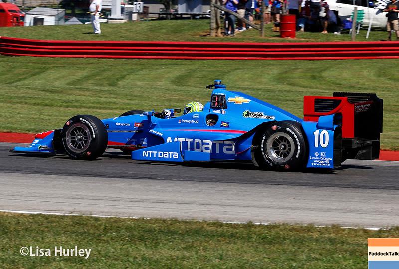 August 1-2: Tony Kanaan at Honda Indy 200 at Mid-Ohio.