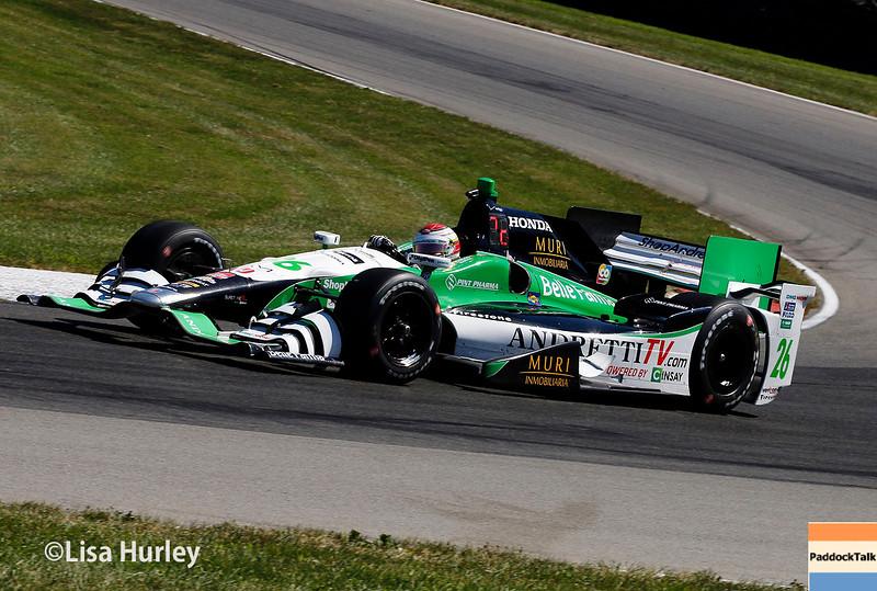 August 1-2: Carlos Munoz at Honda Indy 200 at Mid-Ohio.
