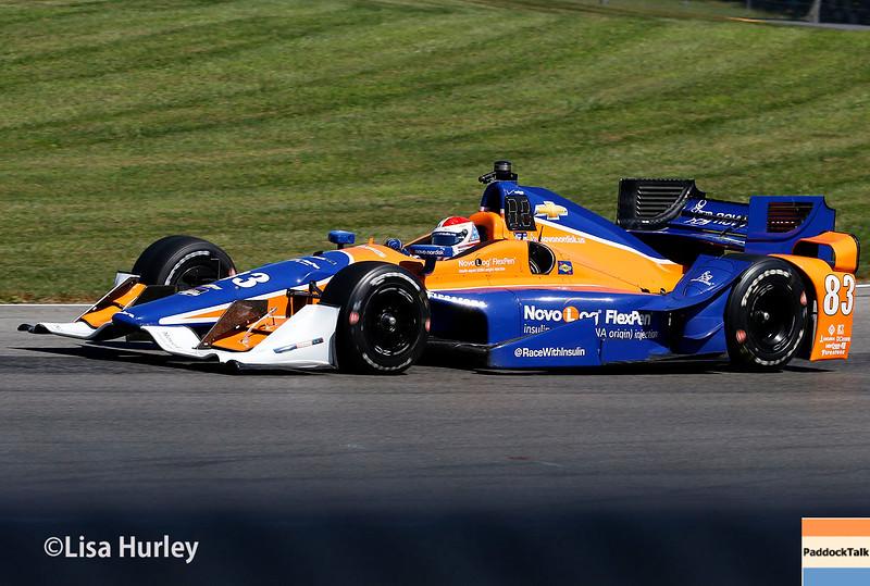 August 1-2: Charlie Kimball at Honda Indy 200 at Mid-Ohio.