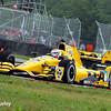 April 12: Graham Rahal during the Indy Grand Prix of Louisiana.