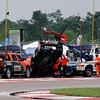 April 12:  Jack Hawkworth's car during the Indy Grand Prix of Louisiana.
