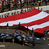 May 29: Stars and stripes before the 100th Running of the Indianapolis 500.