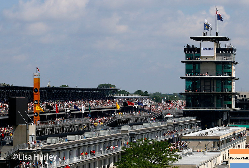 May 29: A beautiful day for the 100th Running of the Indianapolis 500.