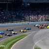 May 29: Track action during the 100th Running of the Indianapolis 500.