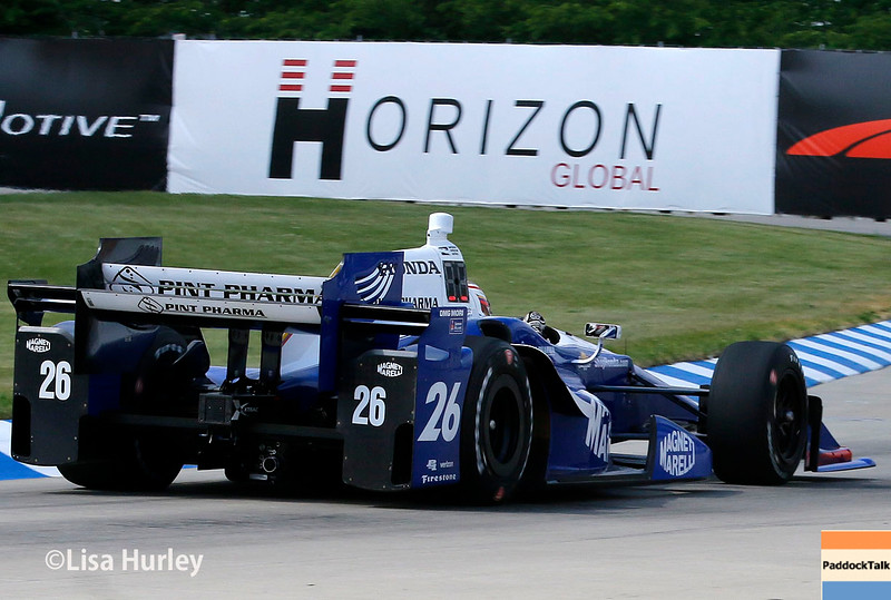 June 4-5: Carlos Munoz during the Chevrolet Detroit Belle Isle Grand Prix.