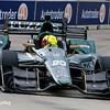 June 4-5: Spencer Pigot during the Chevrolet Detroit Belle Isle Grand Prix.