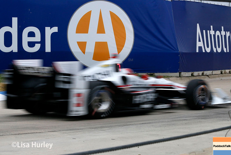 June 4-5: Helio Castroneves during the Chevrolet Detroit Belle Isle Grand Prix.