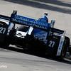 June 4-5: Marco Andretti during the Chevrolet Detroit Belle Isle Grand Prix.