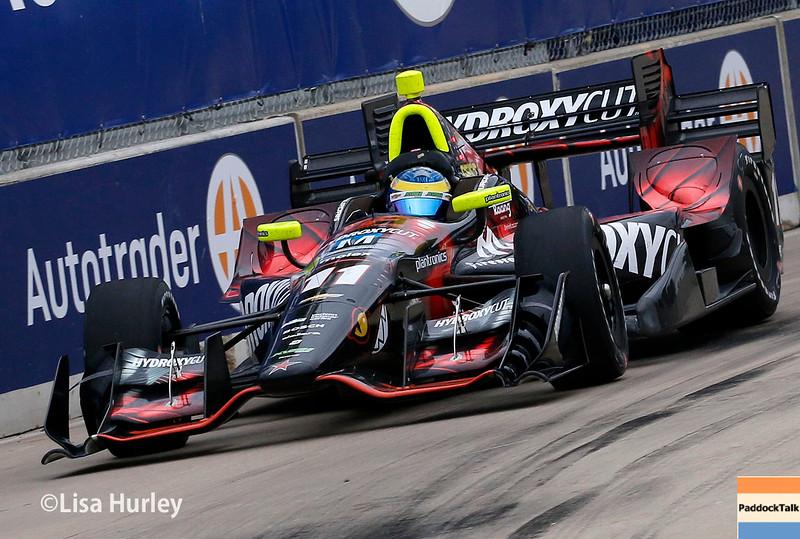 June 4-5: Sebastien Bourdais during the Chevrolet Detroit Belle Isle Grand Prix.