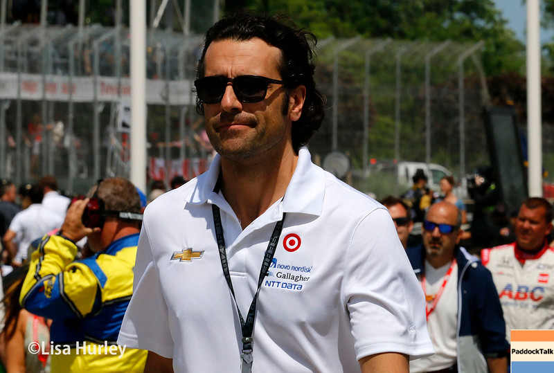 June 4-5: Dario Franchitti during the Chevrolet Detroit Belle Isle Grand Prix.