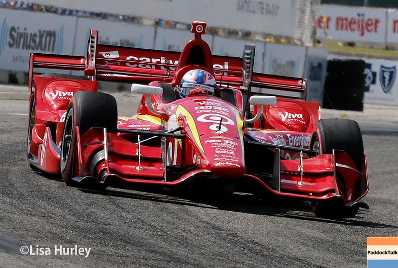 June 4-5: Scott Dixon during the Chevrolet Detroit Belle Isle Grand Prix.