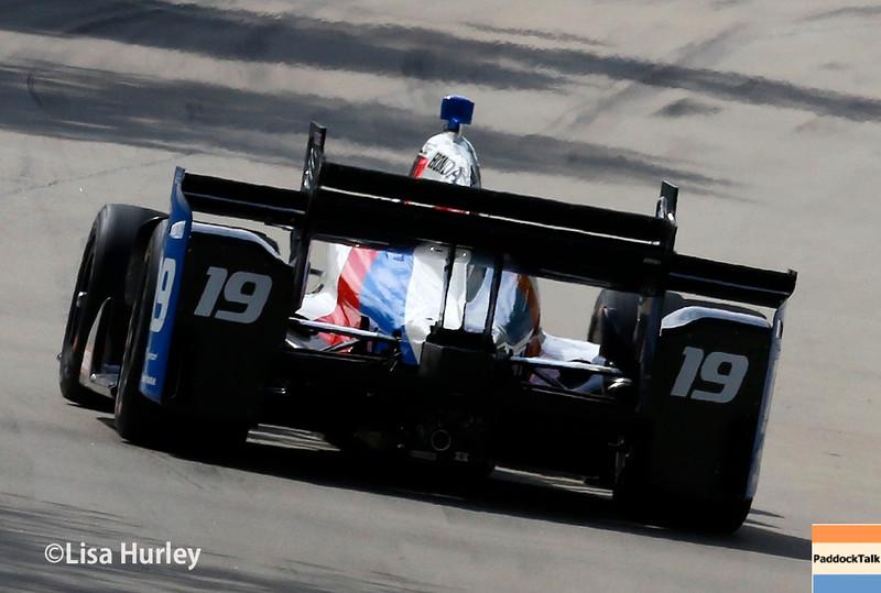 June 4-5: Gabby Chaves during the Chevrolet Detroit Belle Isle Grand Prix.