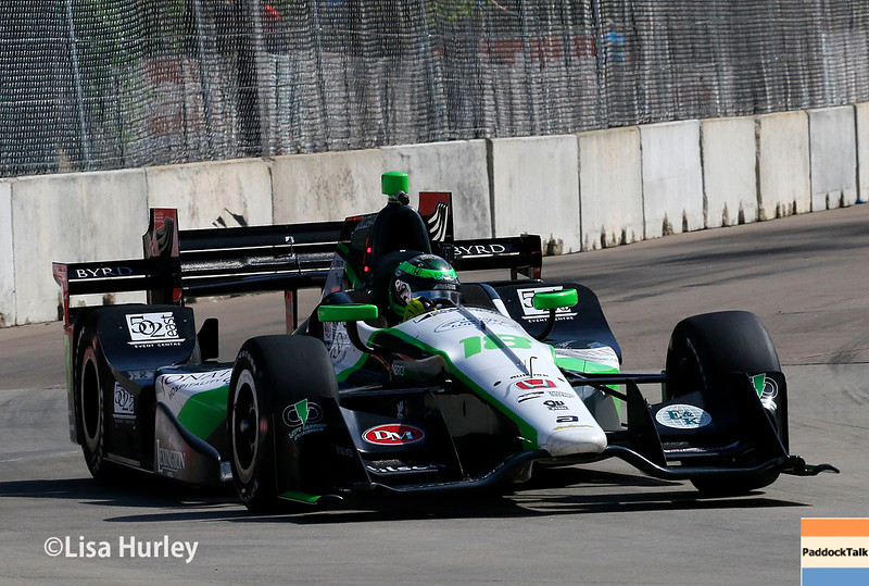 June 4-5: Conor Daly during the Chevrolet Detroit Belle Isle Grand Prix.