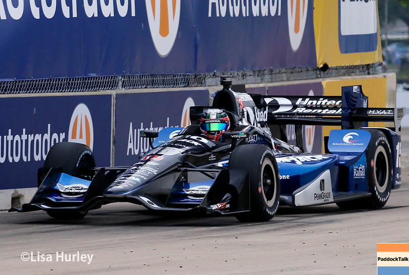 June 4-5: Graham Rahal during the Chevrolet Detroit Belle Isle Grand Prix.