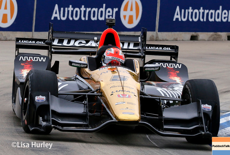 June 4-5: James Hinchcliffe during the Chevrolet Detroit Belle Isle Grand Prix.