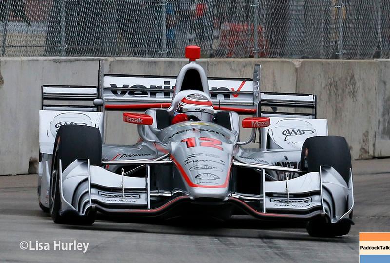 June 4-5: Will Power during the Chevrolet Detroit Belle Isle Grand Prix.