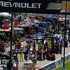 June 4-5: Pit road before the Chevrolet Detroit Belle Isle Grand Prix.