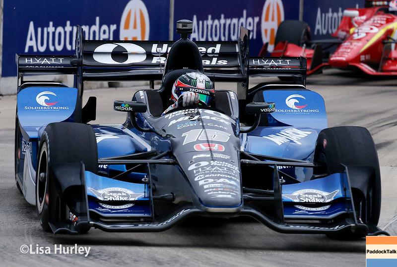 June 4-5: Graham Rahal during the Chevrolet Detroit Belle Isle Grand Prix.