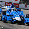 June 4-5: Tony Kanaan during the Chevrolet Detroit Belle Isle Grand Prix.