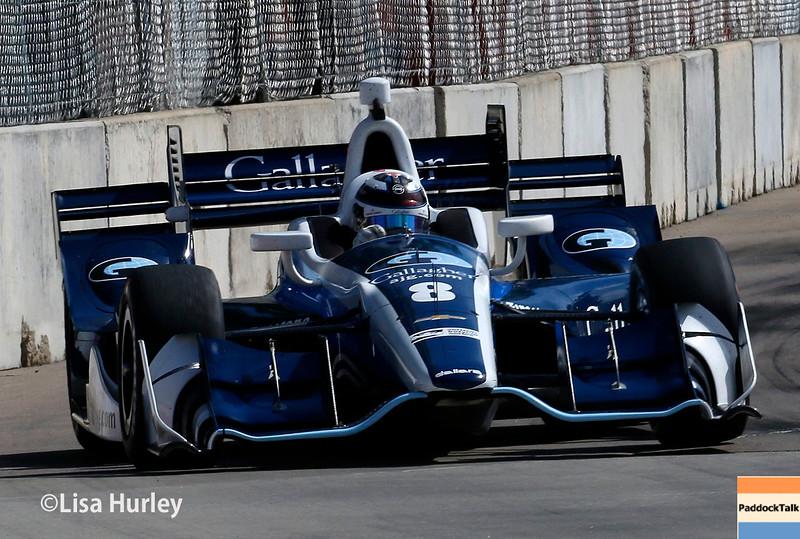 June 4-5: Max Chilton during the Chevrolet Detroit Belle Isle Grand Prix.