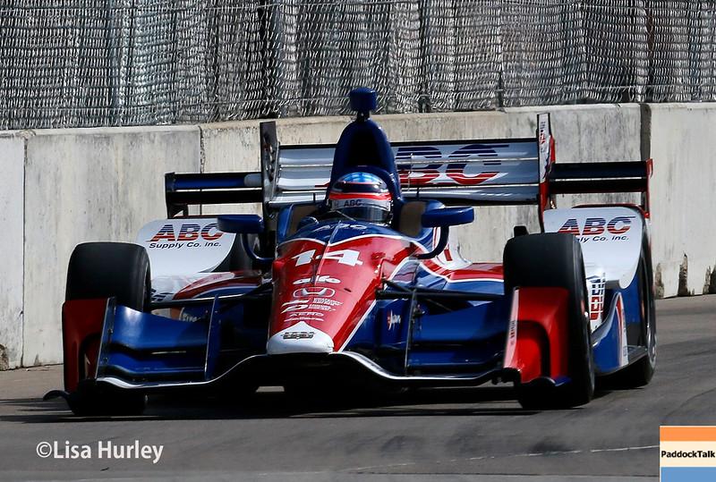 June 4-5: Takuma Sato during the Chevrolet Detroit Belle Isle Grand Prix.