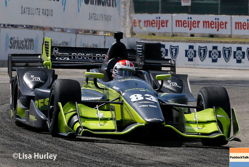 June 4-5: Charlie Kimball during the Chevrolet Detroit Belle Isle Grand Prix.