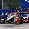 June 4-5: Mikhail Aleshin during the Chevrolet Detroit Belle Isle Grand Prix.