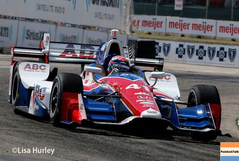 June 4-5: Jack Hawksworth during the Chevrolet Detroit Belle Isle Grand Prix.