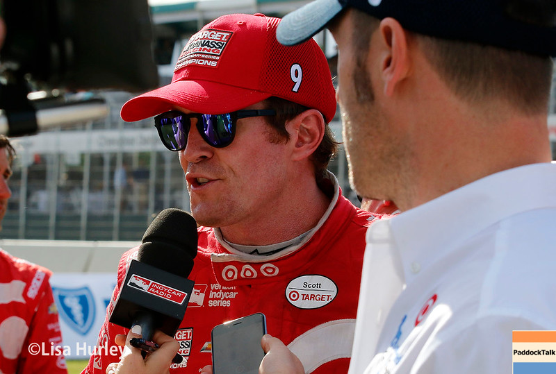 June 4-5: Scott Dixon after the Chevrolet Detroit Belle Isle Grand Prix.