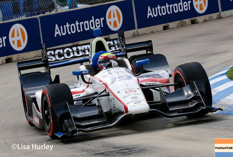 June 4-5: Gabby Chaves during the Chevrolet Detroit Belle Isle Grand Prix.