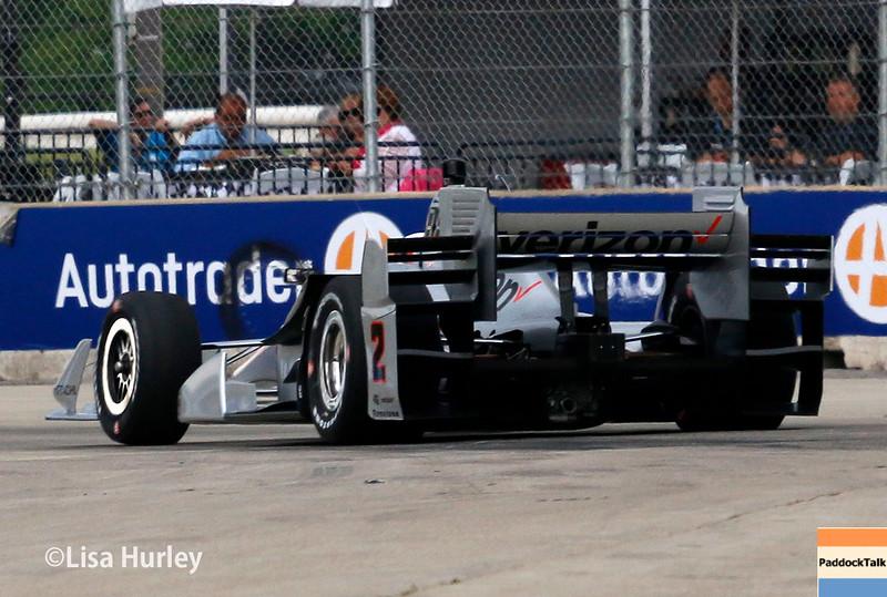June 4-5: Juan Pablo Montoya during the Chevrolet Detroit Belle Isle Grand Prix.