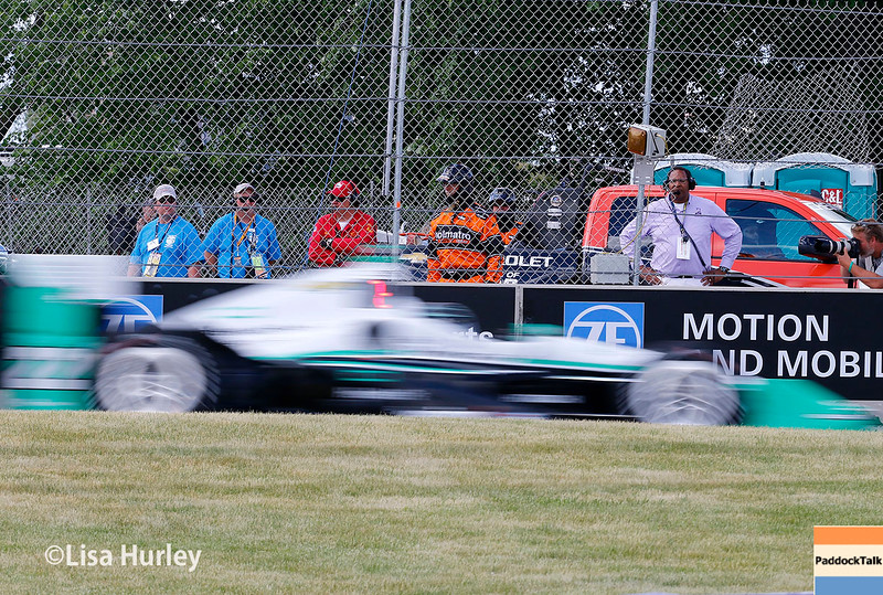 June 4-5: Simon Pagenaud during the Chevrolet Detroit Belle Isle Grand Prix.