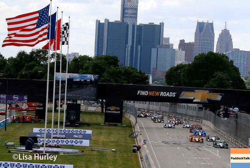 June 4-5: The start of the Chevrolet Detroit Belle Isle Grand Prix.