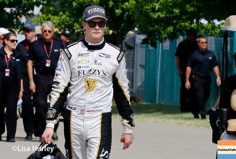 June 4-5: Josef Newgarden during the Chevrolet Detroit Belle Isle Grand Prix.