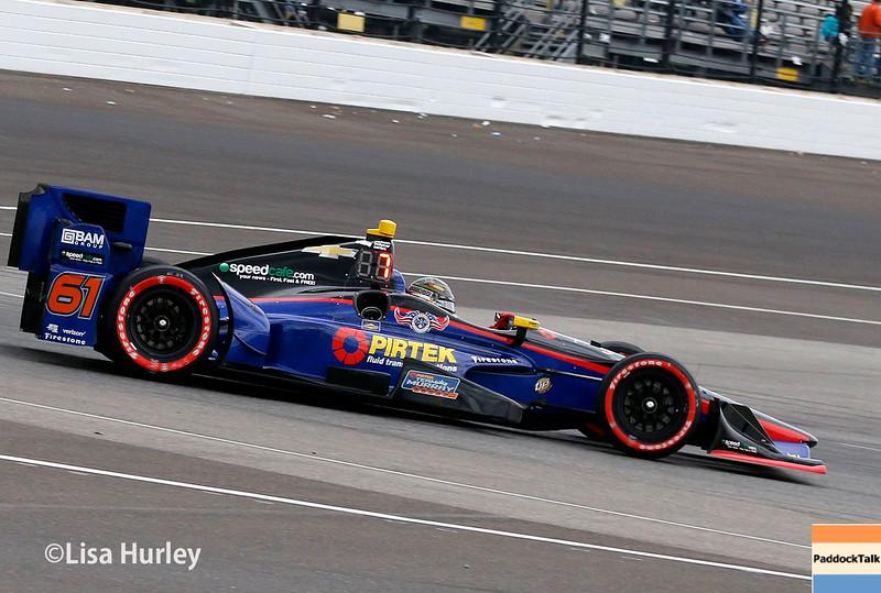 May 13-14: Matt Brabham at the Angie's List Grand Prix of Indianapolis.