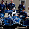 May 13-14: Max Chilton's car and crew at the Angie's List Grand Prix of Indianapolis.