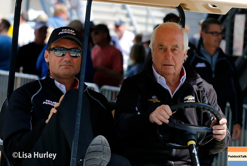 May 13-14: Tim Cindric and Roger Penske at the Angie's List Grand Prix of Indianapolis.
