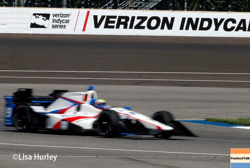 May 13-14: Luca Filippi at the Angie's List Grand Prix of Indianapolis.