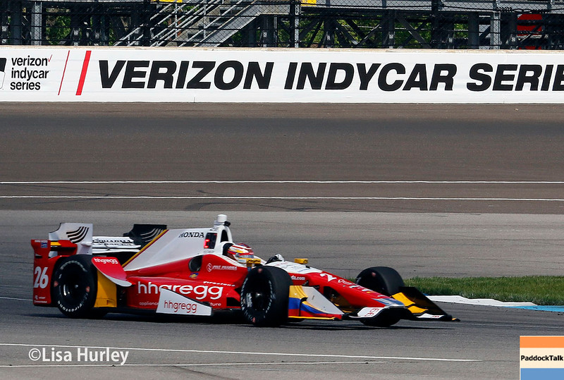 May 13-14: Carlos Munoz at the Angie's List Grand Prix of Indianapolis.