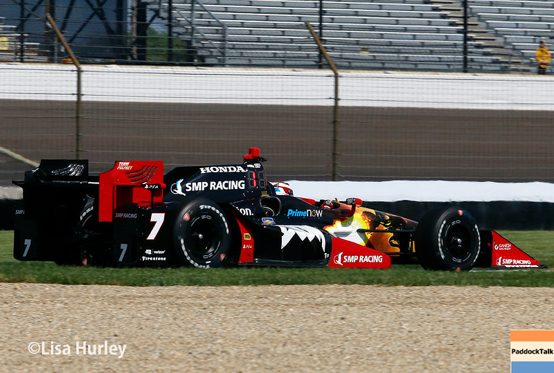 May 13-14: Mikhail Aleshin at the Angie's List Grand Prix of Indianapolis.