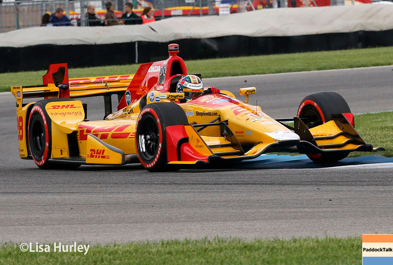 May 13-14: Ryan Hunter-Reay at the Angie's List Grand Prix of Indianapolis.