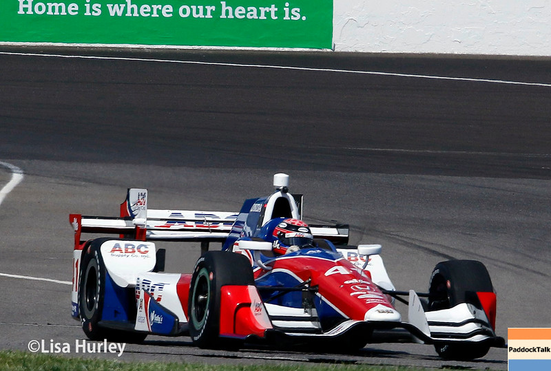 May 13-14: Jack Hawksworth at the Angie's List Grand Prix of Indianapolis.