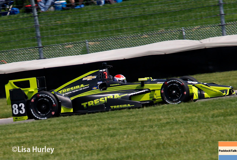May 13-14: Charlie Kimball at the Angie's List Grand Prix of Indianapolis.