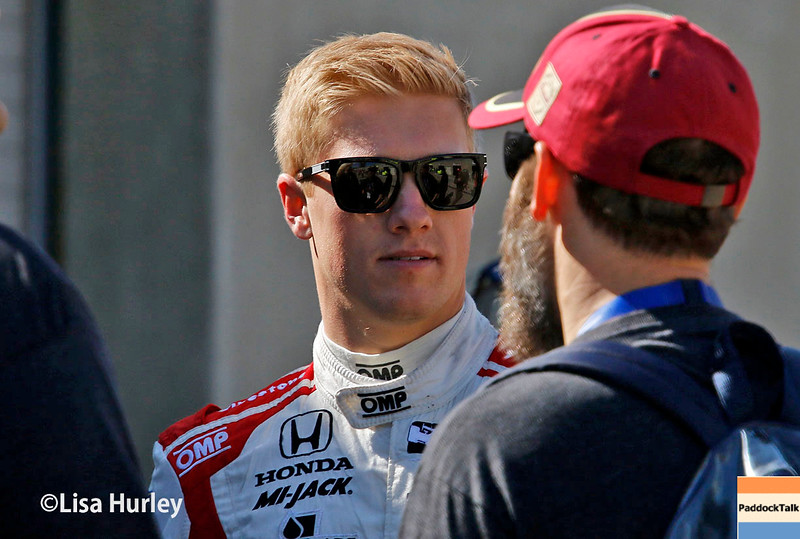 May 13-14: Spencer Pigot at the Angie's List Grand Prix of Indianapolis.
